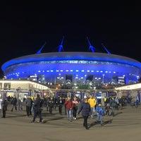 Снимок сделан в Стадион «Санкт-Петербург» пользователем Игорь Щ. 10/16/2017