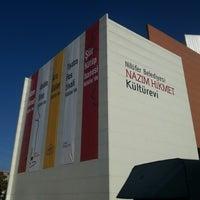 10/20/2012 tarihinde Turhan U.ziyaretçi tarafından Nazım Hikmet Kültürevi'de çekilen fotoğraf