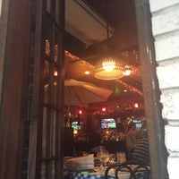 Das Foto wurde bei Beach Cafe von Olga am 8/26/2015 aufgenommen