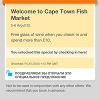 Photo prise au Cape Town Fish Market par Natalia le3/1/2013