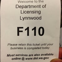 drivers licenses department lynnwood wa