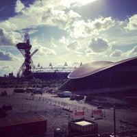 7/28/2013 tarihinde Adam M.ziyaretçi tarafından Queen Elizabeth Olympic Park'de çekilen fotoğraf
