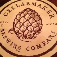 Foto scattata a Cellarmaker Brewing Company da Tim G. il 10/25/2013