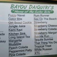 Photo prise au Bayou Daiquiris par Brenda &. le7/2/2014
