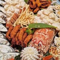 مطعم بحر الامارات Emirates Seafood Restaurant هور العنز شرق