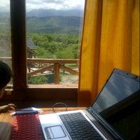 Das Foto wurde bei Cabañas Intihanan von Marina M. am 11/24/2012 aufgenommen