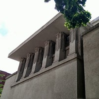 รูปภาพถ่ายที่ Frank Lloyd Wright's Unity Temple โดย Tom L. เมื่อ 7/5/2013