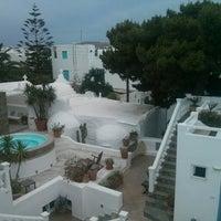5/29/2014 tarihinde Екатерина К.ziyaretçi tarafından Carbonaki Hotel Mykonos'de çekilen fotoğraf