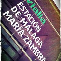 รูปภาพถ่ายที่ Estación de Málaga-María Zambrano โดย Liis S. เมื่อ 6/15/2013