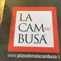 Снимок сделан в Pizzosteria La Cambusa пользователем Franz K. 8/8/2017