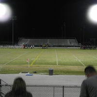 Photo taken at Newsome High School: Football Stadium by Hugo B. on 11/5/2013