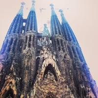 Foto tirada no(a) Sagrada Família por Сергей Т. em 7/9/2013