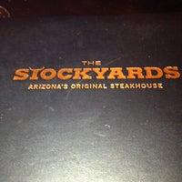 Снимок сделан в Stockyards Steakhouse пользователем Ann A. 4/7/2013