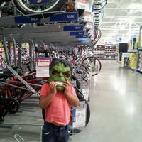 Photo taken at Walmart Supercenter by Steven P. on 9/14/2012