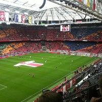 10/7/2012 tarihinde Lars H.ziyaretçi tarafından Johan Cruijf Arena'de çekilen fotoğraf