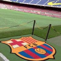 Foto tomada en Camp Nou por Latifa .. el 6/8/2013