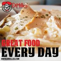 Снимок сделан в DiMille's Italian Restaurant пользователем DiMille's Italian Restaurant 9/16/2014