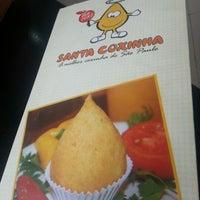 Снимок сделан в Santa Coxinha пользователем Cristiane P. 1/19/2013