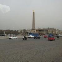 Das Foto wurde bei Place de la Concorde von Vincent M. am 4/8/2013 aufgenommen