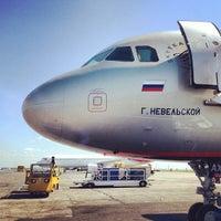 Снимок сделан в Международный аэропорт Курумоч (KUF) пользователем Boris K. 7/21/2013