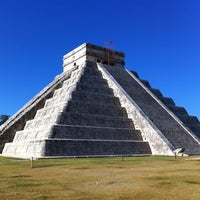 Foto tomada en Zona Arqueológica de Chichén Itzá por Wim B. el 11/11/2012
