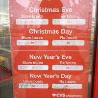 Cvs Christmas Hours.Cvs Pharmacy 3 Tips
