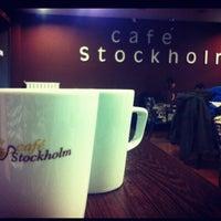 4/15/2013에 Aybüke D.님이 Cafe Stockholm에서 찍은 사진