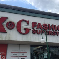 6242541b91a ... Photo taken at K amp amp G Fashion Superstore by Stephanie A. on 5 ...
