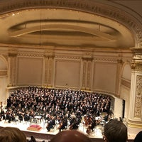 Foto scattata a Stern Auditorium / Perelman Stage at Carnegie Hall da Christopher H. il 11/12/2018