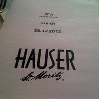 12/28/2012にPhilips S.がRestaurant Hauserで撮った写真