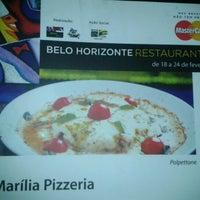 Foto tirada no(a) Marília Pizza Bar por Chris M. em 2/27/2013