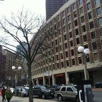 Снимок сделан в City Hall Plaza пользователем Guzel G. 11/25/2012
