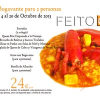 Foto tomada en Restaurante  FEITO por Restaurante  FEITO el 10/4/2013