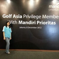 12/6/2012에 Vitaria Y.님이 Pondok Indah Golf & Country Club에서 찍은 사진