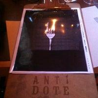 Das Foto wurde bei Antidote FoodLab von Myriam G. am 7/12/2014 aufgenommen