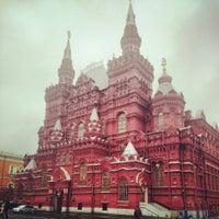 Снимок сделан в Красная площадь пользователем Ольга П. 10/28/2013