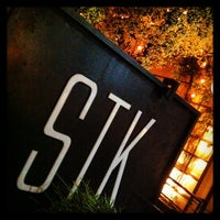 Снимок сделан в STK LA пользователем Kat M. 5/19/2013