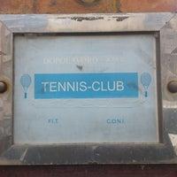 Снимок сделан в Circolo Tennis Dopolavoro ATAC пользователем Francesco H. 3/3/2013