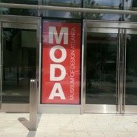 9/15/2012にSwarthy D.がMuseum of Design Atlanta (MODA)で撮った写真