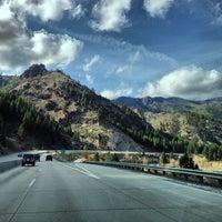 Photo taken at California / Nevada State Line by Daniel Eran D. on 4/7/2013