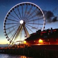 Das Foto wurde bei The Seattle Great Wheel von Daniel Eran D. am 5/14/2013 aufgenommen