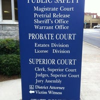 Cobb County Probate Court - Courthouse in Downtown Marietta