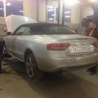 Снимок сделан в Авторолл (сервис VW, AUDI, SEAT, SKODA) пользователем Antonio 2/27/2014