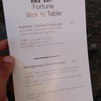 Снимок сделан в Fortune Wok Table пользователем Zachary 7/27/2018