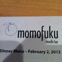 Foto tirada no(a) Momofuku Noodle Bar por Alonso H. em 2/3/2013