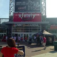 6/6/2013 tarihinde Andre W.ziyaretçi tarafından XFINITY Live! Philadelphia'de çekilen fotoğraf