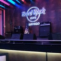 Foto tirada no(a) Hard Rock Cafe Santiago por Carlos M. em 5/11/2013
