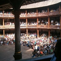 Foto tirada no(a) Shakespeare's Globe Theatre por Heinrich S. em 9/1/2013