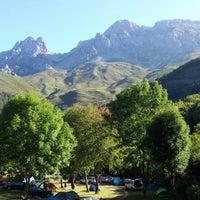 Foto tomada en Camping El Cares Picos de Europa por Jose Antonio A. el 8/10/2014