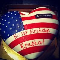 Снимок сделан в Круассан-кафе пользователем Valentine L. 9/30/2012